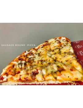 Sausage Round Pizza