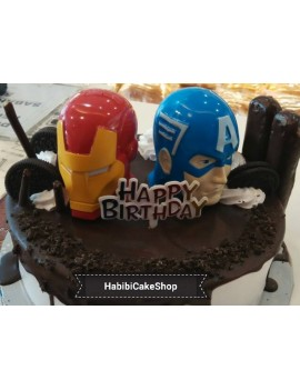 Birthday cake Mix superhero