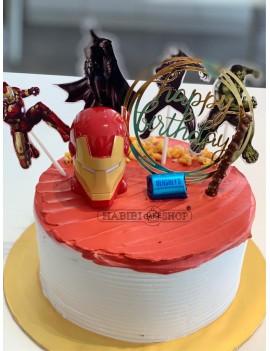Birthday Cakes design 1017