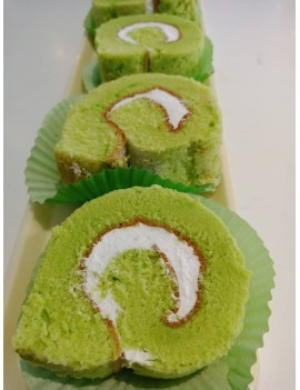 Pandan Cream roll